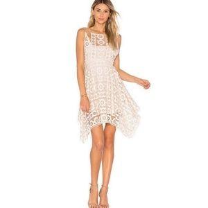 Free People Just Like Honey ivory lace dress